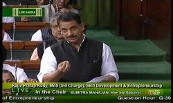 Embedded thumbnail for Mr Rudy's statement on Skill Development initiatives in Lok Sabha - 18 March 2015