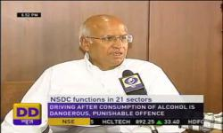 Embedded thumbnail for NSDC Chairman Mr. S Ramadorai talks to DD News