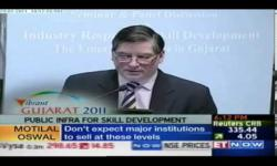 Embedded thumbnail for  NSDC MD and CEO Dilip Chenoy at the Vibrant Gujarat Summit, 2011
